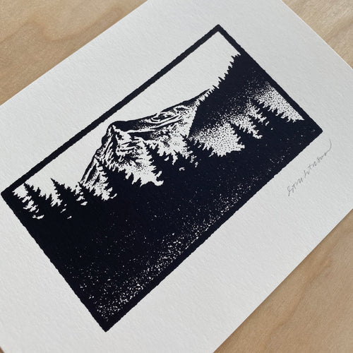 Oregon Wilderness - Signed 7x5in Print #243