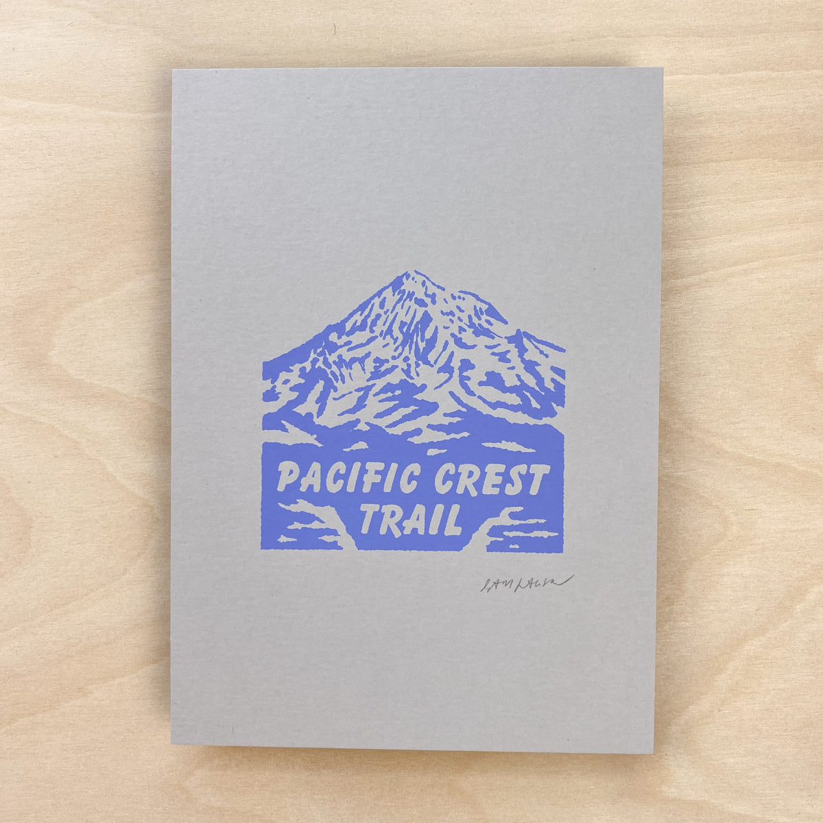 Pacific Crest Trail - Signed 5x7in Print #207