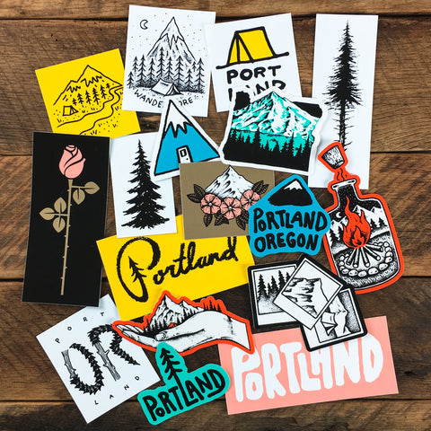 Washington Sticker Pack 1