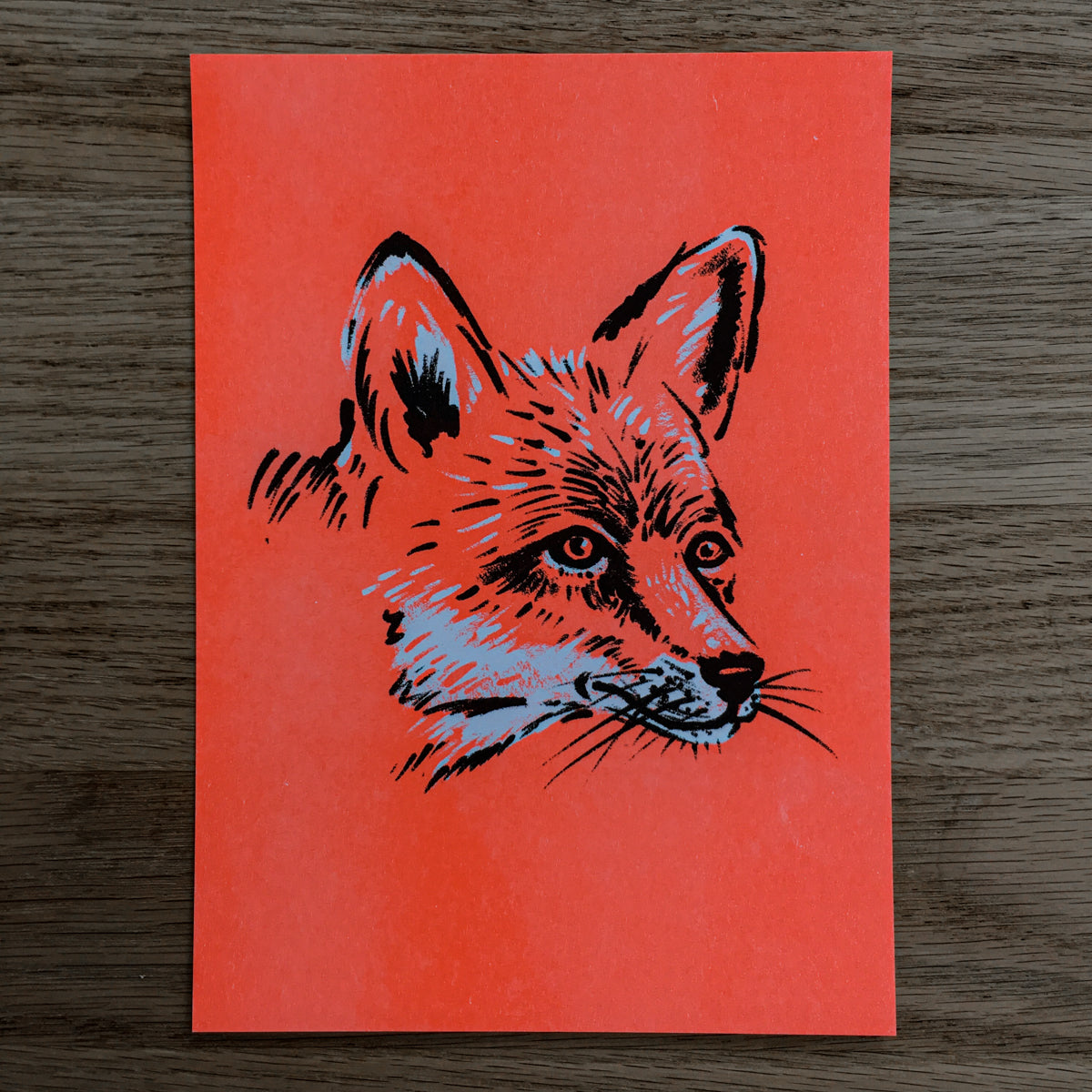 Red Fox - Signed Print #109