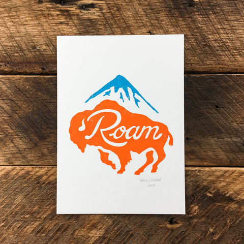 Bearscape - Signed Print #83