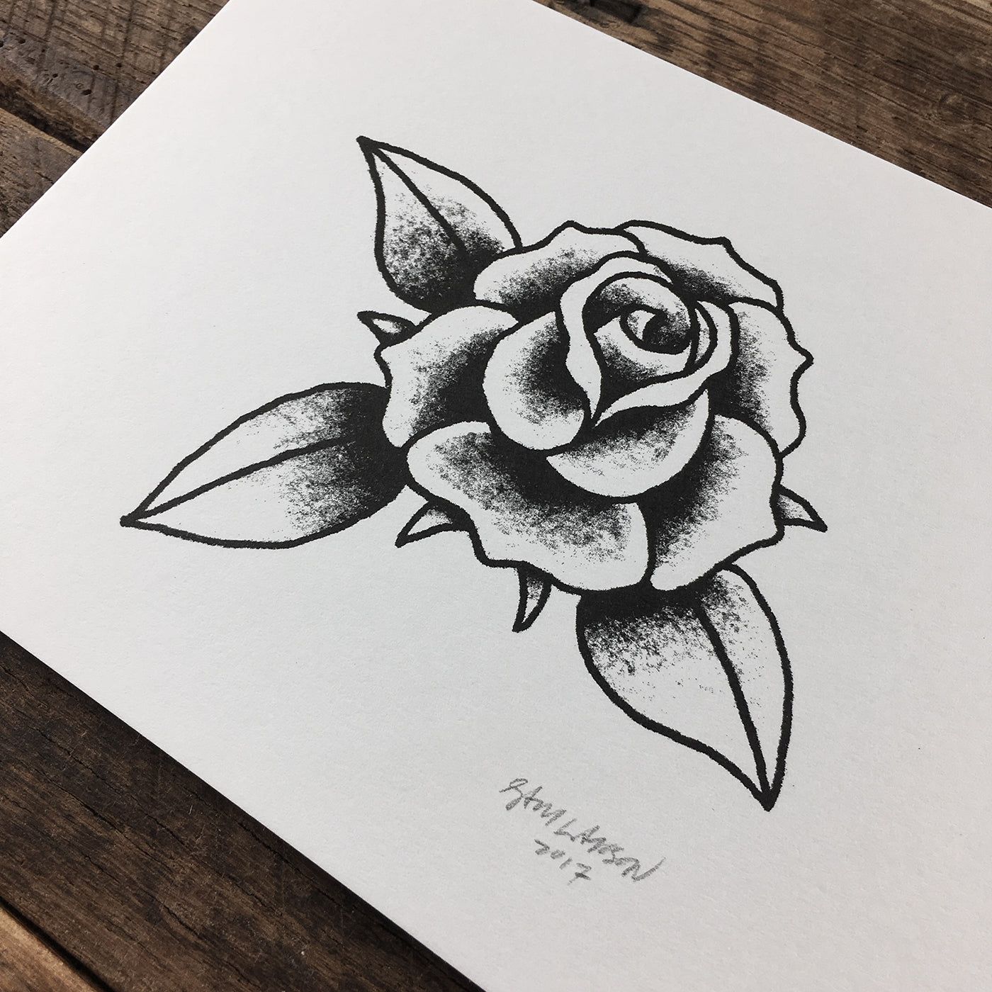 Rose - Signed Print #60