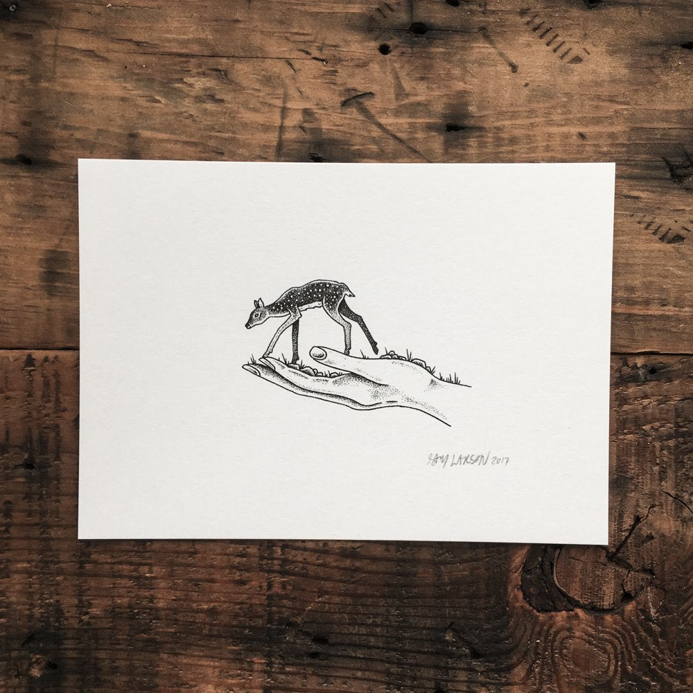 Fawn - Signed Print #10