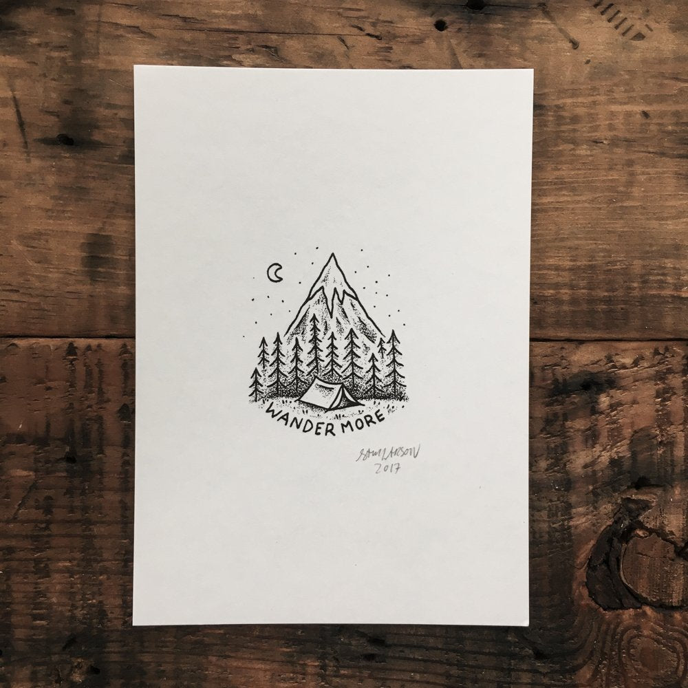 Wander - Signed Print #11