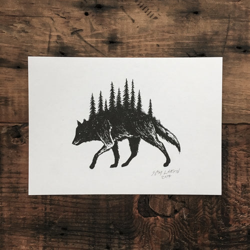 Wolf Pines - Signed Print #1
