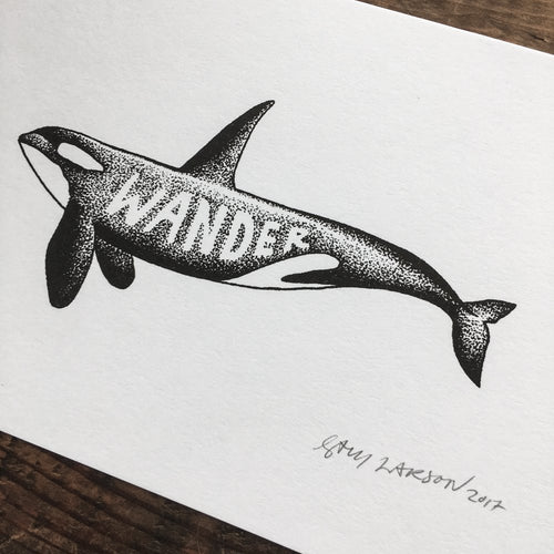 Wander Orca - Signed Print #22