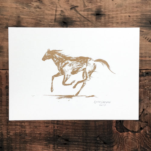 Mustang - Signed Print #26