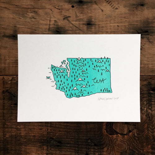 Washington - Signed Print #32