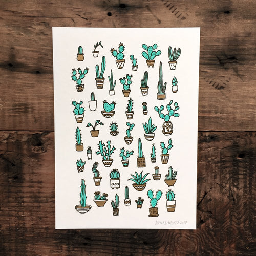 Cacti - Signed Print #33