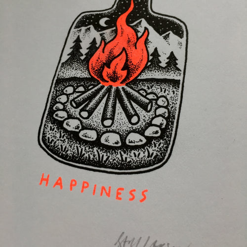 Happiness - Signed Print #35