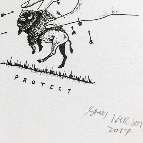 Protect - Signed Print #9