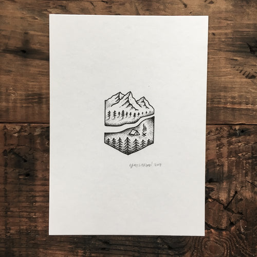 Camp - Signed Print #14