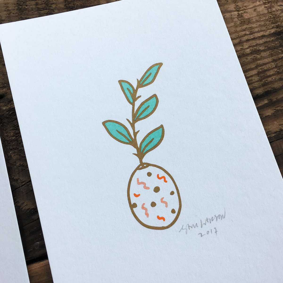 Plant Prints - Signed 6 Pack