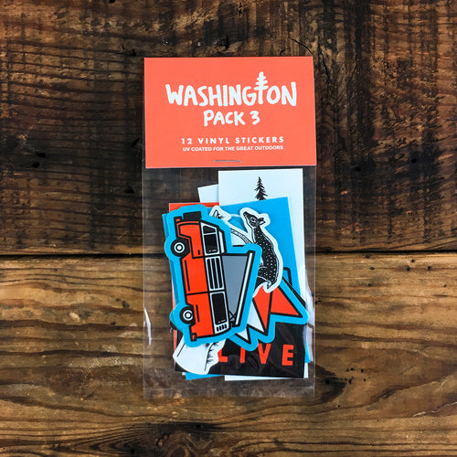 Washington Sticker Pack 3