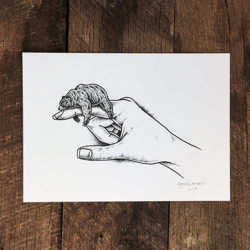 Sleepy Finger - Signed Print #69