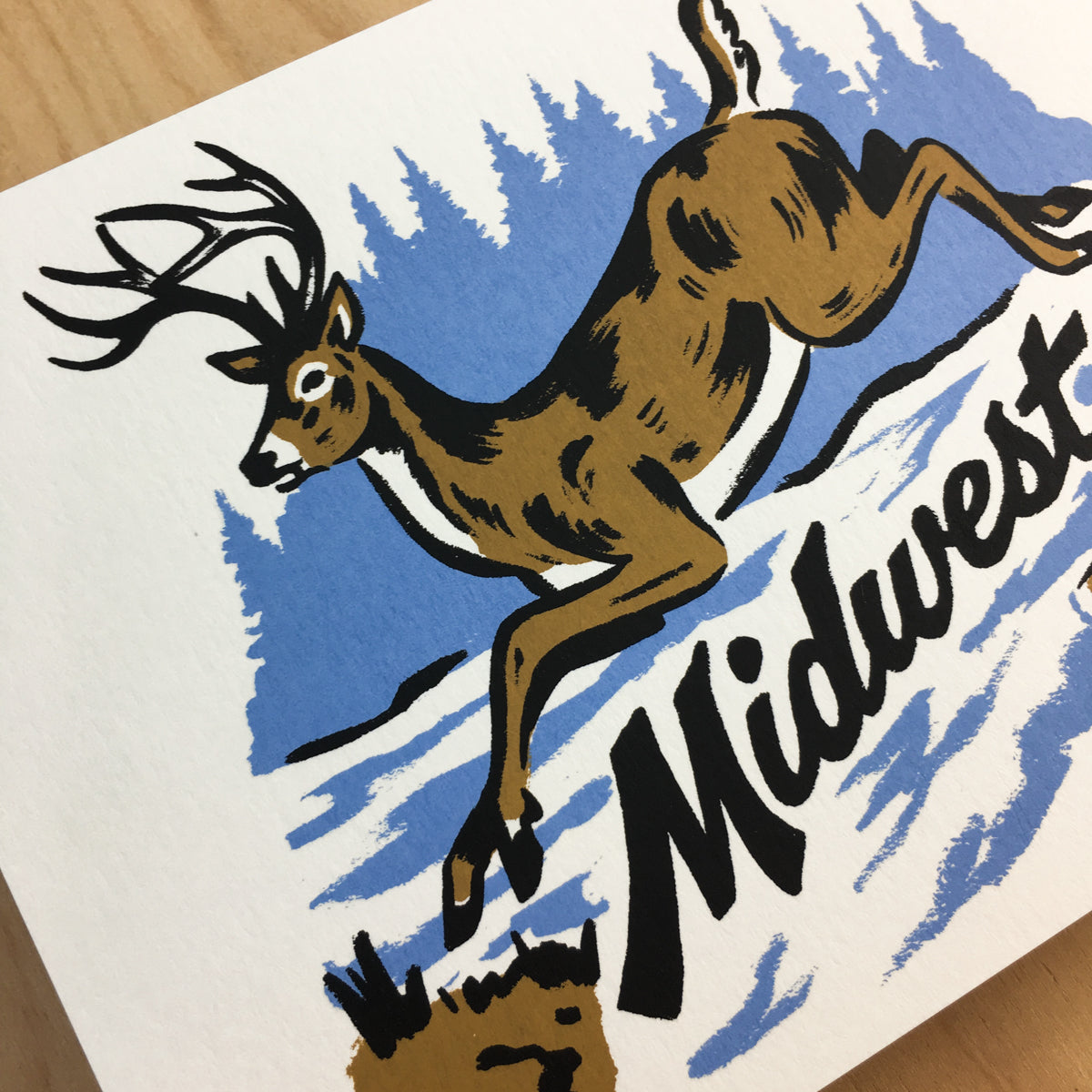 Midwest Whitetail - Signed Print #172
