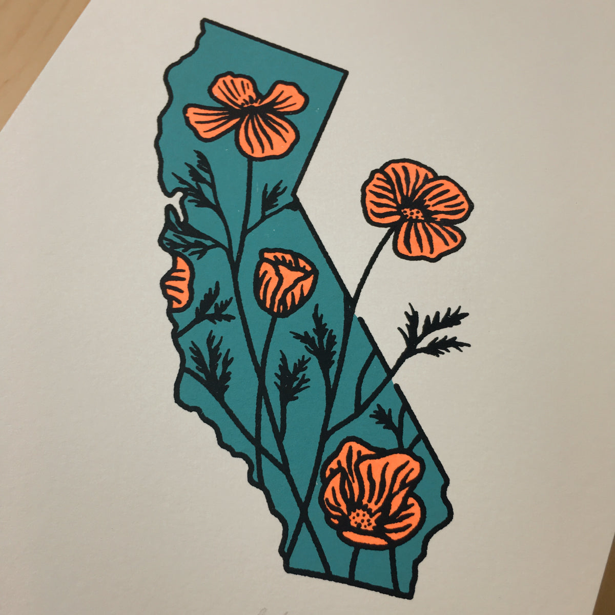 California Poppies - Signed Print #183