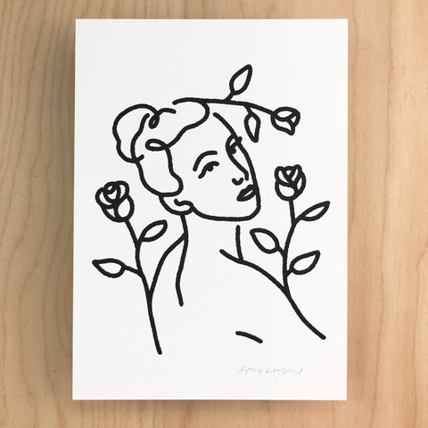 Bloom - Signed Print #147 Periwinkle