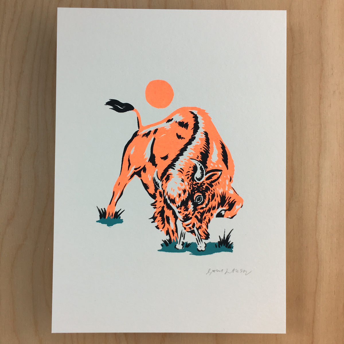 Red Dog - Signed Print #164