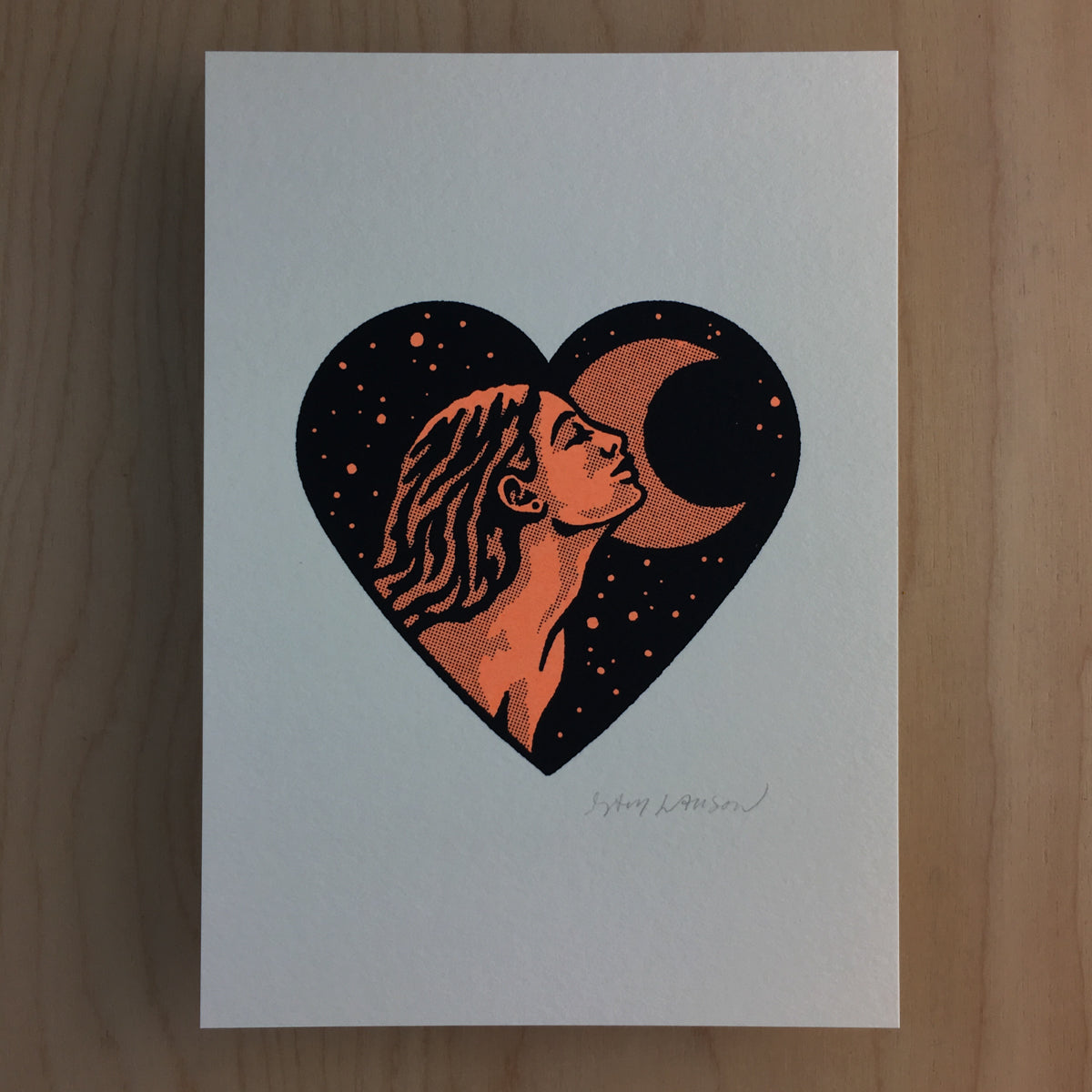 Honeymoon - Signed Print #157