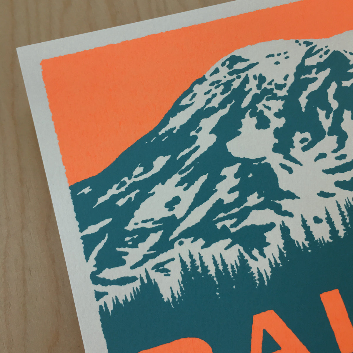 Mount Rainier - Signed Print #184