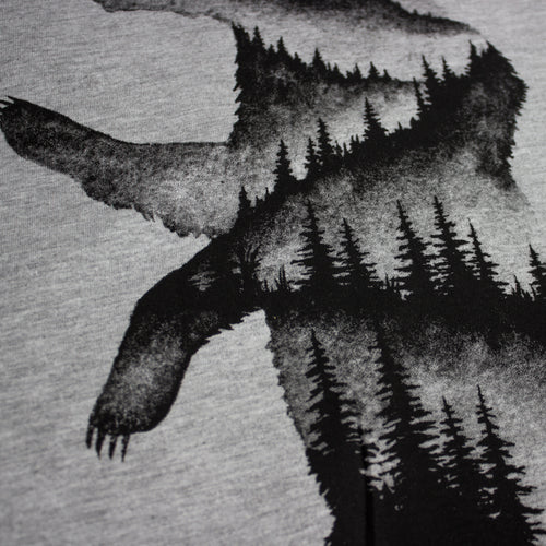 Bear Hills Long Sleeve Shirt (Heather Grey)