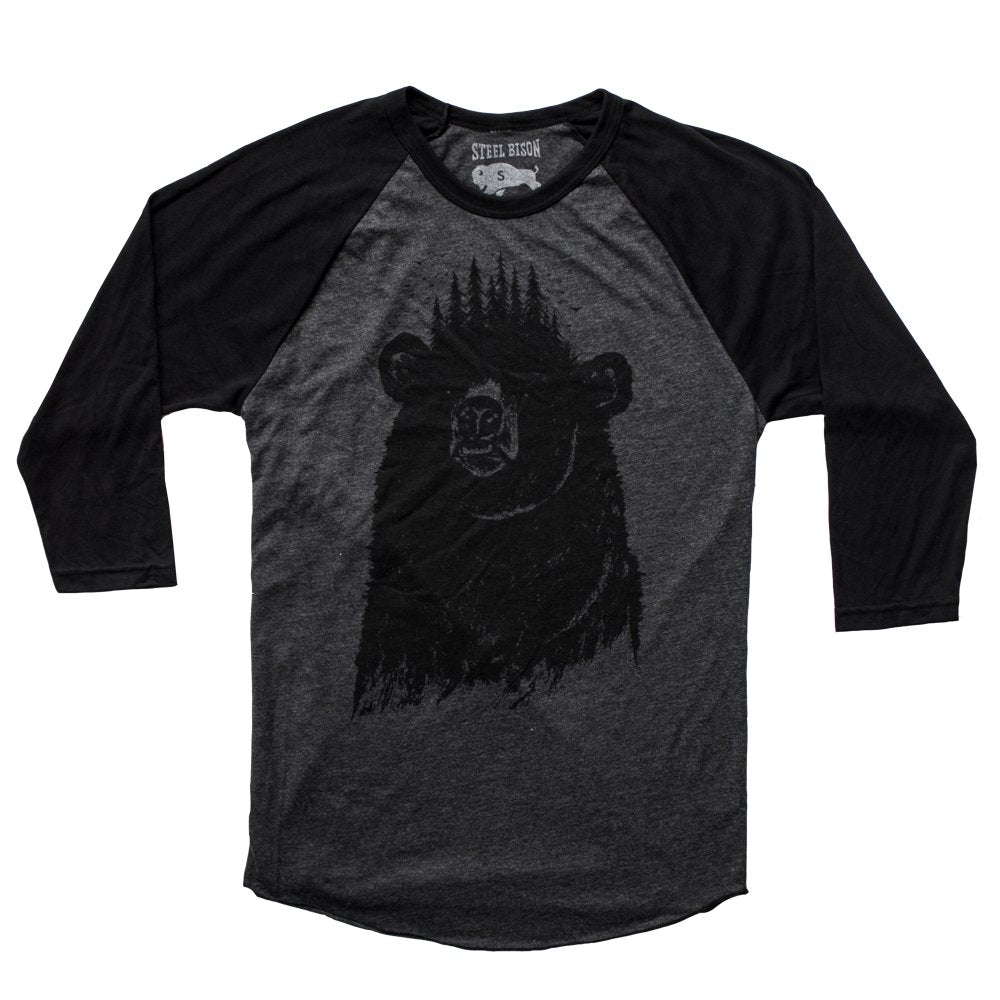 Forest King Raglan Shirt (Heather Black/Black)