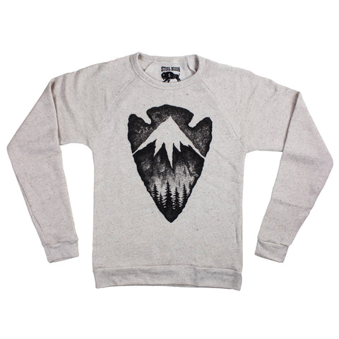 Last Frontier Crew Sweatshirt (Heather Grey)