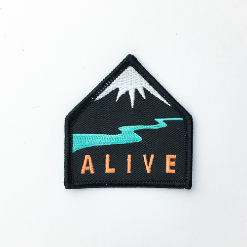 Alive - Embroidered Patch