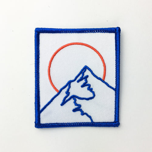 Broken Mountain - Embroidered Patch