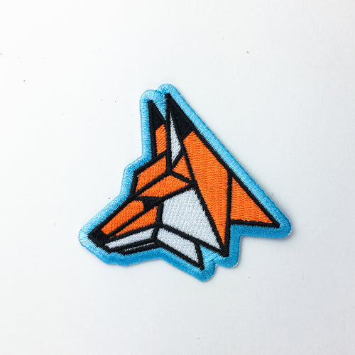 Geo Fox - Embroidered Patch