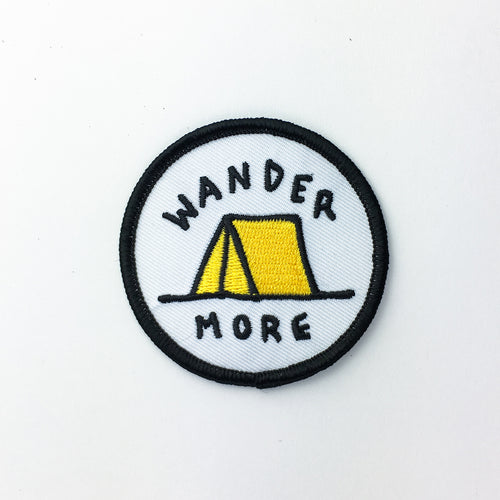Wander Tent - Embroidered Patch