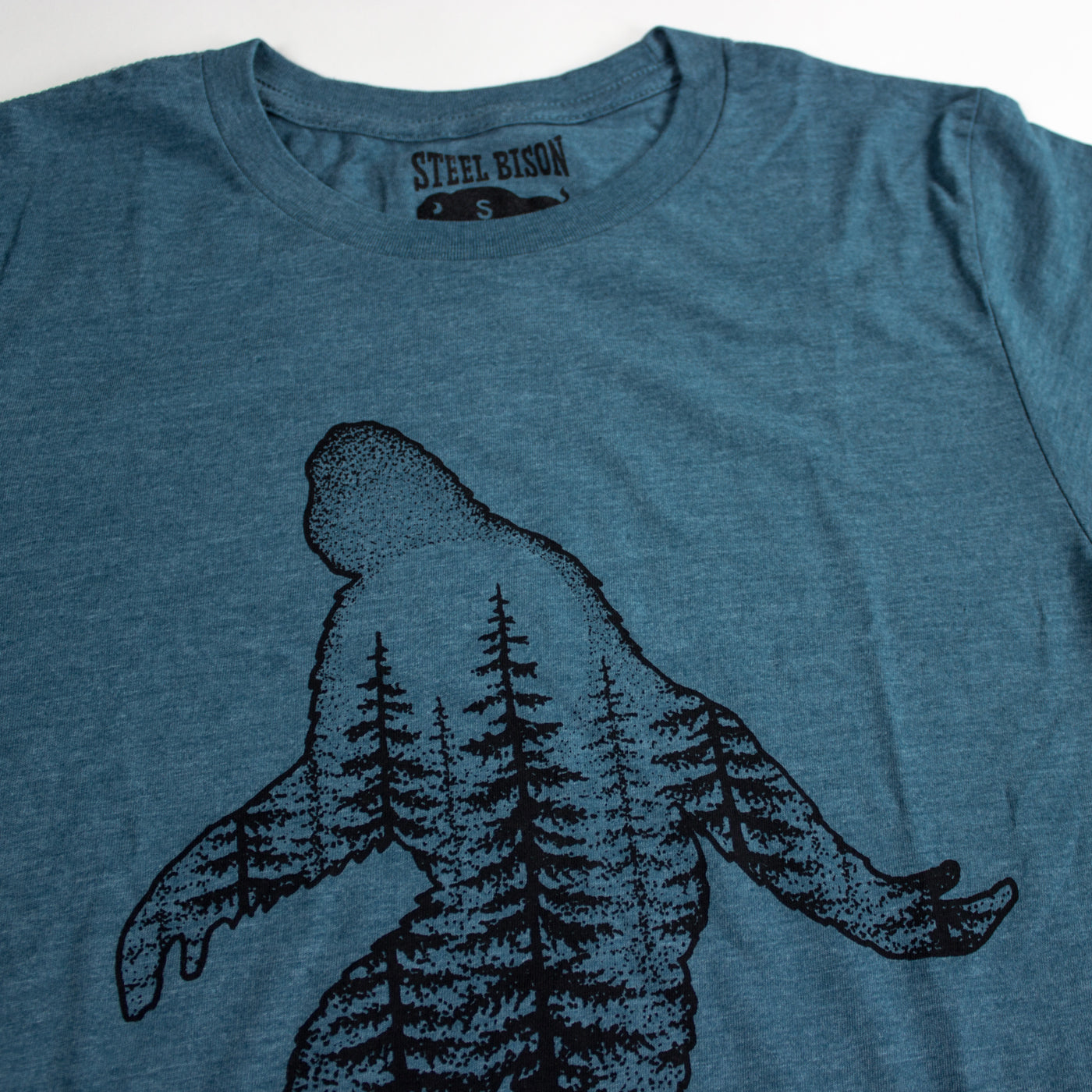 Sasquatch Long Sleeve Shirt (Heather Big Sur Blue)