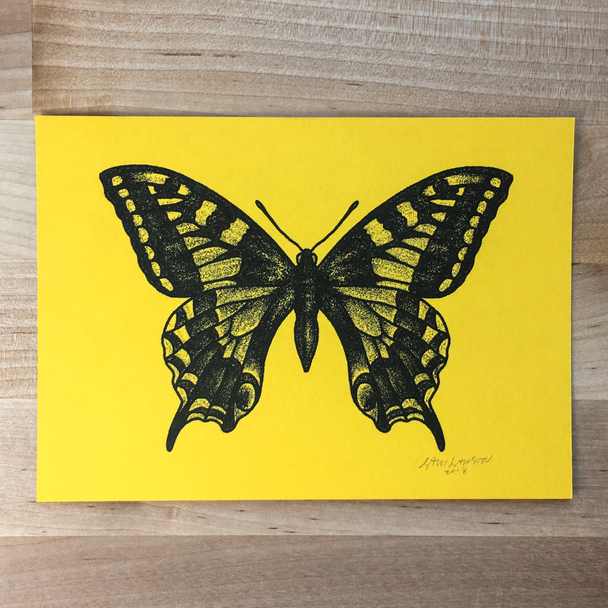 Swallowtail - Signed Print #88