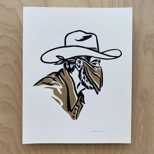The Outlaw - Signed 8x10in Print #251