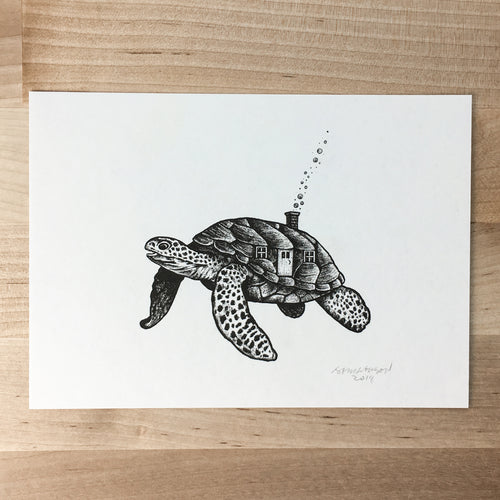 Turtle House - Signed Print #75