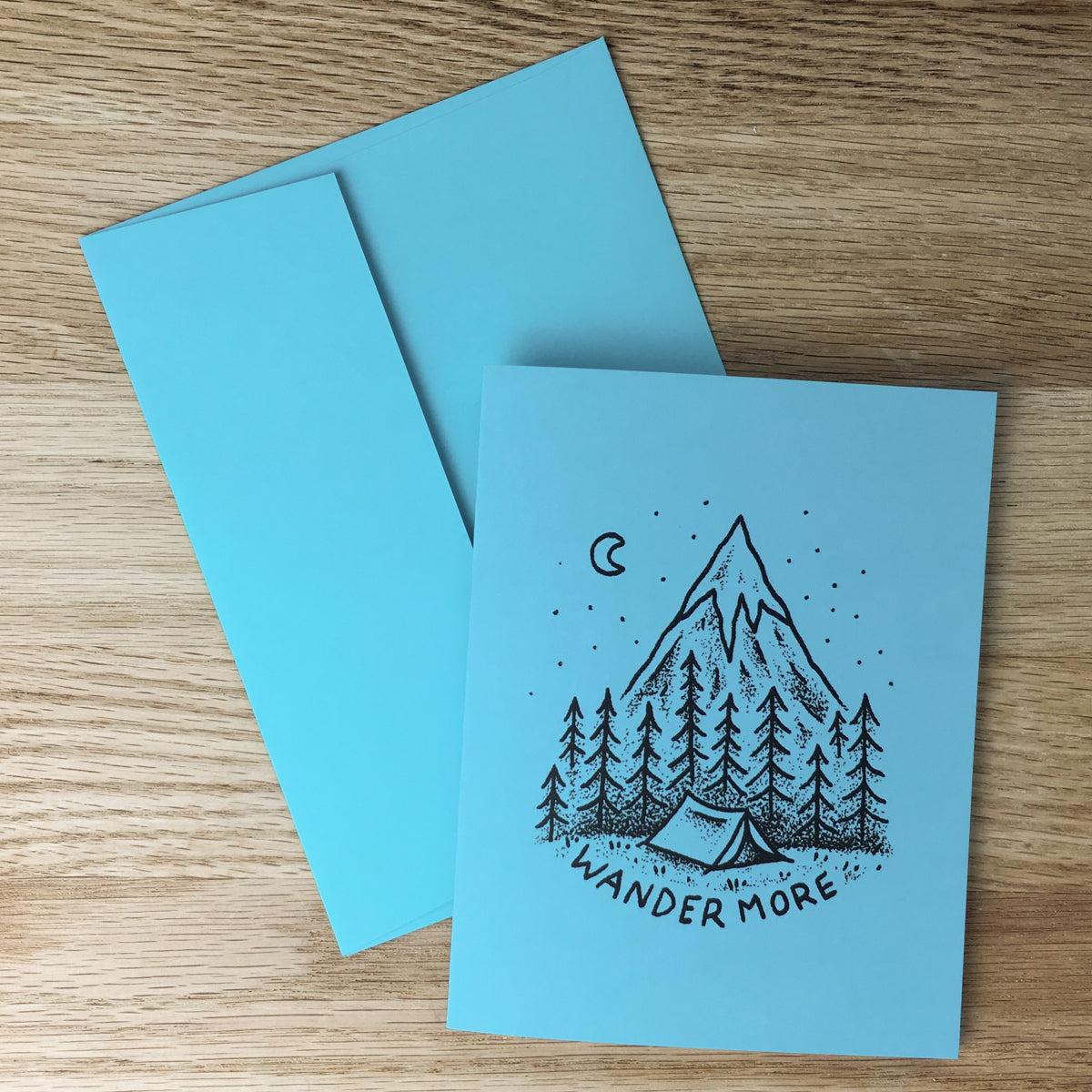 Greeting Cards - Wander