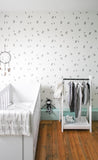 Behang Grafitti grey - roomblush