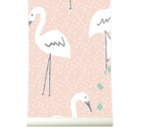 Behang in paradise pink - roomblush