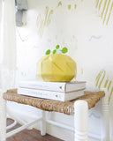 Behang wild and free mustard - roomblush