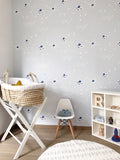 Behang starry skies kaki - roomblush