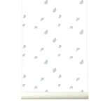 Behang going dotty grey - roomblush