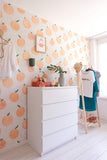 Behang Zumo orange - roomblush