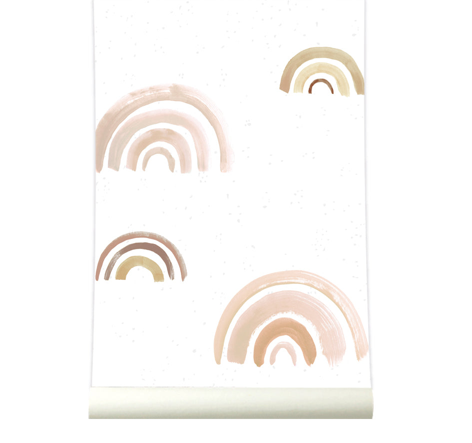 Behang Rainbow Nude - roomblush
