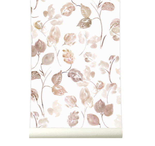 Behang Bloom Nude - roomblush