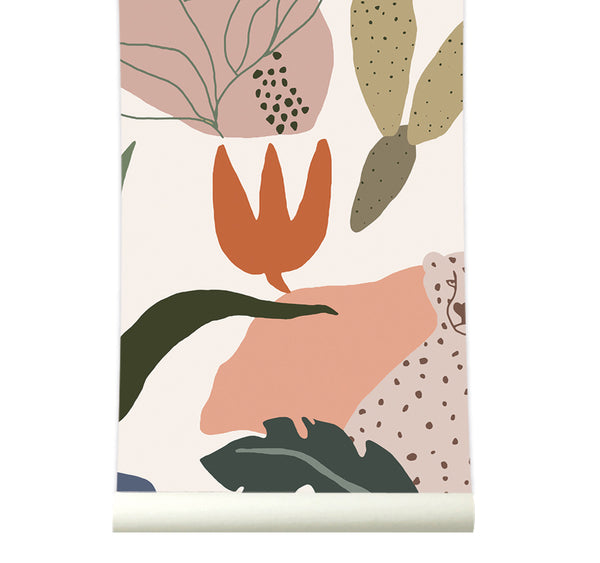 Behang Safari Bright - roomblush