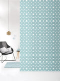 Behang Dots Softblue