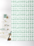 Behang Flags Pastelgreen - roomblush