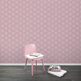 Behang Hexamix Pink - roomblush