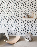 Behang Leopard Grey - roomblush